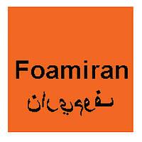 Фоамиран оранжевый Иранский 20х15 см, толщина 1 мм