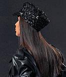 Жіноча кепі з паєтками (кепка) (5 кольорів), фото 3