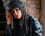 Жіноча кепі з паєтками (кепка) (5 кольорів), фото 8