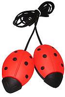 Сушилка для обуви электрическая Божья коровка (красная), Алпрофон