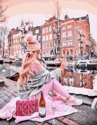 Картина по номерам  Каналы Амстердама (BK-GX34409) 40 х 50 см (Без коробки)