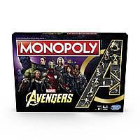Настольная игра Monopoly Hasbro Game Marvel Avengers Марвел Мстители Monopoly HG MA