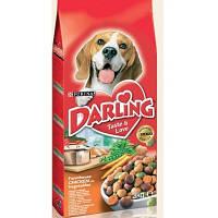 Корм сухой Дарлинг для собак курица с овощами Darling 3 кг