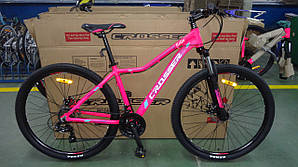 Велосипед CROSSER 26  SELFY 17 2020 года Розовый цвет