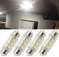 Светодиодные Лампочки Festoon LED C5W Стекло 39 мм Авто