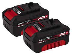 Аккумуляторы Einhell Power-X-Change Twinpack 4.0 A/h 18V (2 шт.)