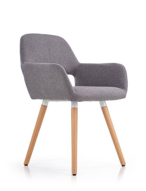 Кресло K-283 темно серый (Halmar)