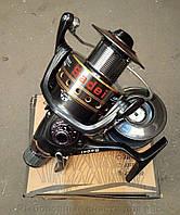 Катушка рыболовная с байтраннером ( 40 ,  2 шпули, 8+1 подшипников)