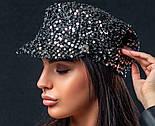 Жіноча кепі з паєтками (кепка) (5 кольорів), фото 10