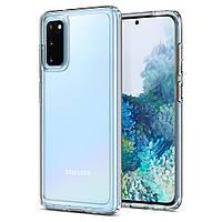 Чехол Spigen для Samsung Galaxy S20 Ultra Hybrid, Crystal Clear (ACS00792)