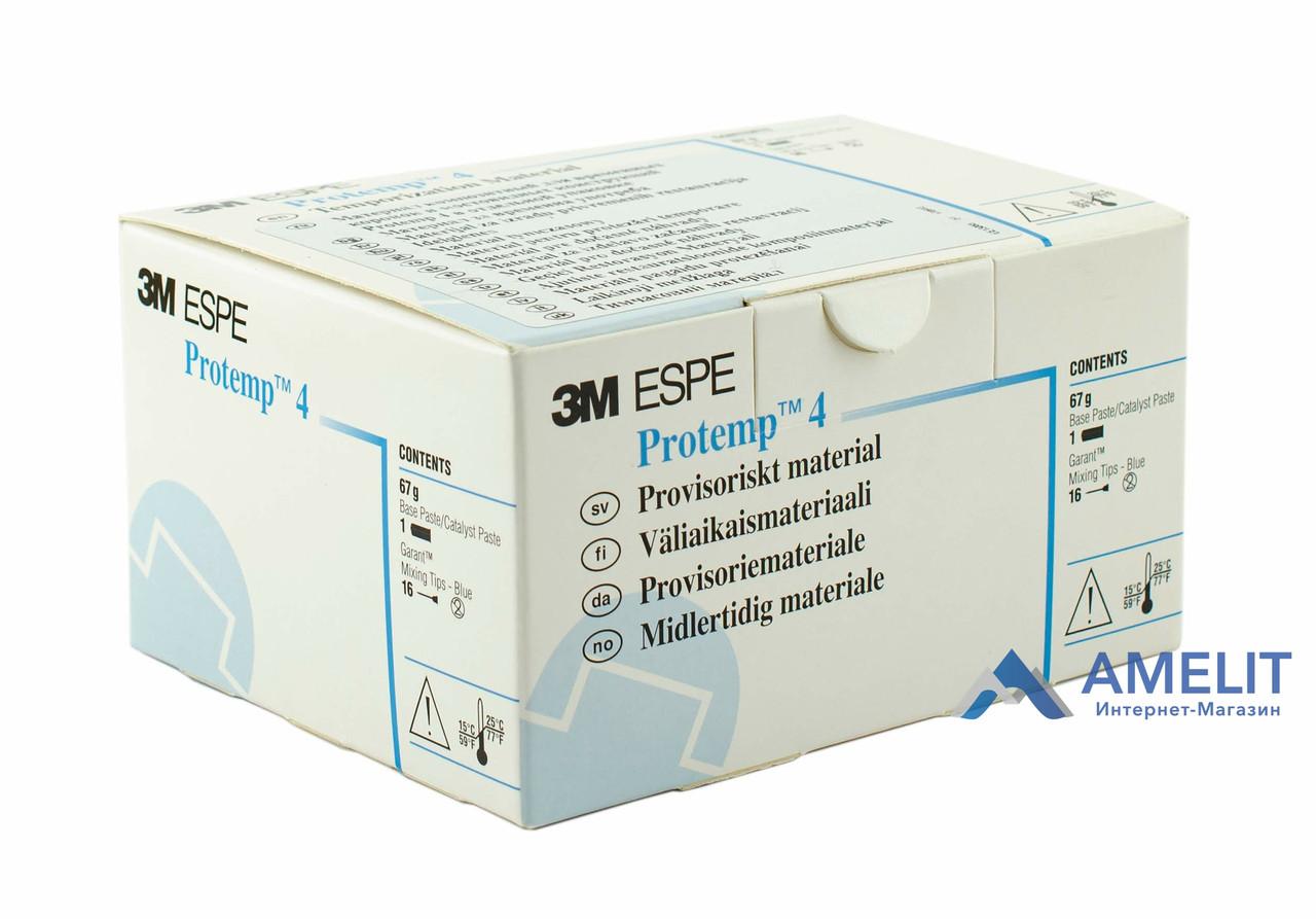Протемп 4, цвет Bleach(Protemp 4, 3M ESPE), картридж 50мл + 16 насадок