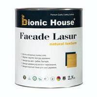 Краска для дерева Фасад Лазурь/FACADE LASUR (уп.2,8 л) безцв.