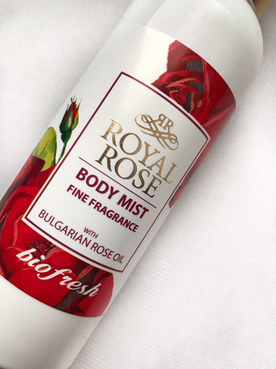 "Спрей-мист для тела ""Royal rose""/Body mist Royal Rose 150 ml"