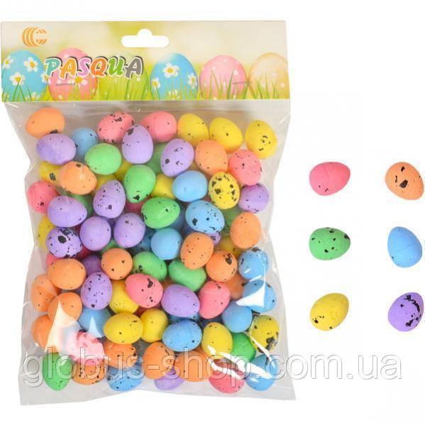 Яйцо маленькое 2х1,5 см набор 90-100 шт