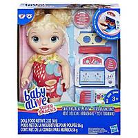 Hasbro BABY ALIVE Kукла Беби Элайв Малышка и еда, фото 1