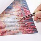 Алмазная вышивка, икона 30х40 см, квадратные стразы, полная выкладка, фото 4