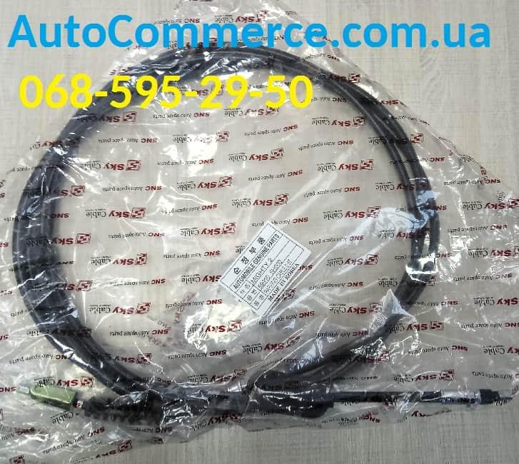 Трос стояночного тормоза ручника Hyundai HD65/HD72 Хюндай hd (599105H000) 3.3L