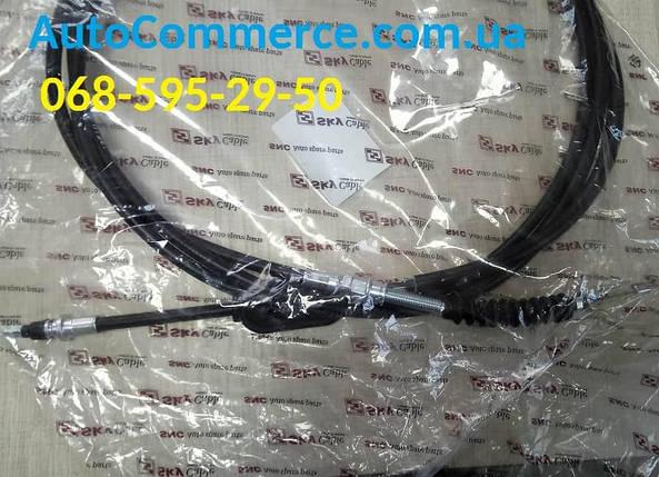 Трос стояночного тормоза ручника Hyundai HD65/HD72 Хюндай hd (599105H000) 3.3L, фото 2