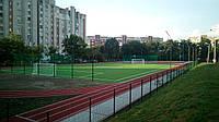 У  Львові  побудован стадіон зі штучним покриттям