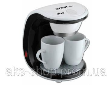 Кофеварка капельная First FA-5453-2 мощность 450 Вт объем 0,25 л