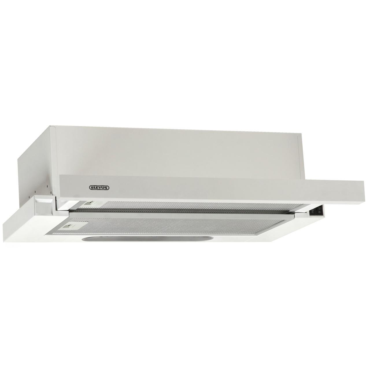Витяжка кухонна телескопічна ELEYUS LOTUS 470 50 WH (біла)