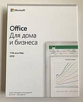 Ліцензійний Microsoft Office 2019 для Дому Та Бізнесу, RUS, Box-версія (T5D-03248) всрытая упаковка, фото 1