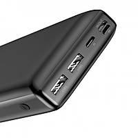 Зовнішній акумулятор Baseus Mini JA Fast charge power bank 3A 30000mAh Black