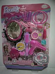 Детский игрушечный парикмахерский набор.Игрушечный набор парикмахера.