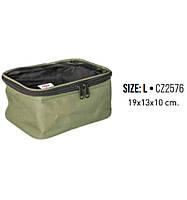 Сумка для рыболовных аксессуаров Transparent-N Soft Top Box L