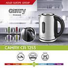 Электрочайник Camry CR 1253  с контролем температуры и смена цвета 1,7 литр, фото 10