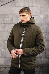 Мужская демисезонная куртка парка Intruder 'Spart' хаки размер S 46 M 48 L 50 XL 52 XXL 54
