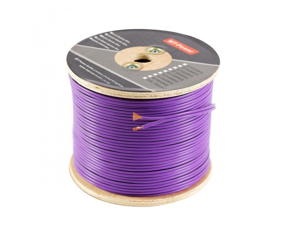 Кабель акустический MT-Power Speaker Install Cable 2/18 AWG