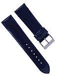Ремінець для годинника з натуральної шкіри лаковий розмір 22 мм, фото 3