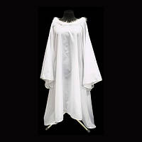 Накидка (элемент новогоднего костюма) Белый Ангел 100 см карнавальный