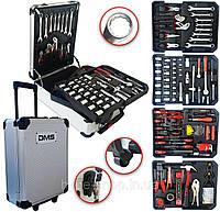 Профессиональный набор инструментов DMS® 395 пр. с тележкой