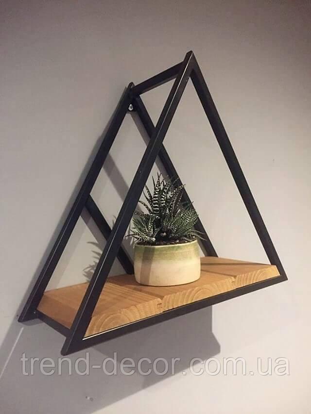 Полка треугольная геометрическая 991