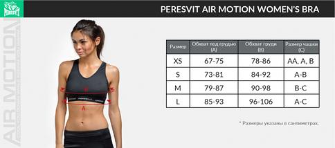 Спортивный топ Peresvit Air Motion Women's Bra Printed Triangle Mint, фото 3