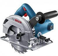 Ручная циркулярная пила Bosch GKS 600 (1.2 кВт, 165 мм) (06016A9020)
