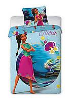 Комплект постельного белья NR 1410 Elena M&M 7378 Синий, Розовый, Зеленый