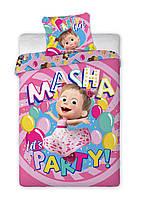 Комплект постельного белья NR 1435 Masha M&M 0088 Розовый