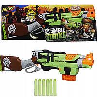Игрушечное оружие Hasbro Бластер Зомби Страйк Слингфайр (A6563)
