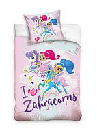 Комплект постельного белья NR 1444 Shimmer Shine M&M 8066 Разноцветный