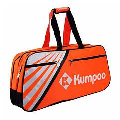 Сумка-чехол на 6 ракеток Kumpoo KGS-605 Orange