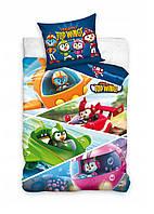 Комплект постельного белья NR 1443 Top Wing M&M 8042 Разноцветный