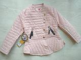 Куртка демисезонная для девочки ЭКОкожа р. 140, 158, фото 6