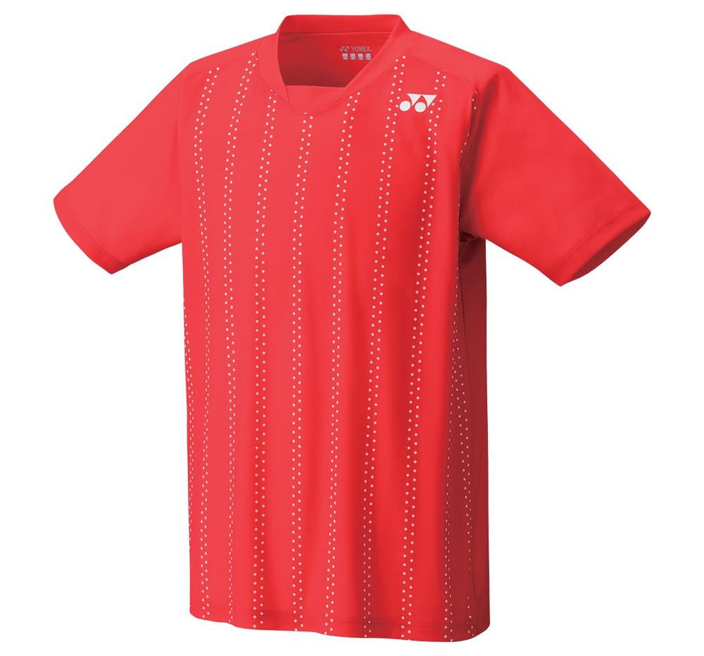 Футболка Yonex 12134 men's Crew Neck Shirt Sunset Red