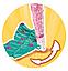Кукла Simba Штеффи Русалочка со светящимся хвостом 5733049, фото 5