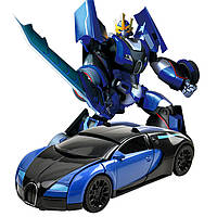 Робот - трансформер JQ6101 металл, 18 см | гоночный автомобиль | робот + машина | детская игрушечная машинка