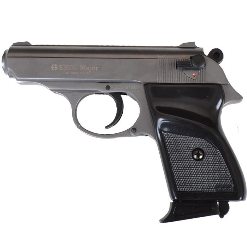 Пистолет сигнальный, стартовый Ekol Major (9.0мм), серый