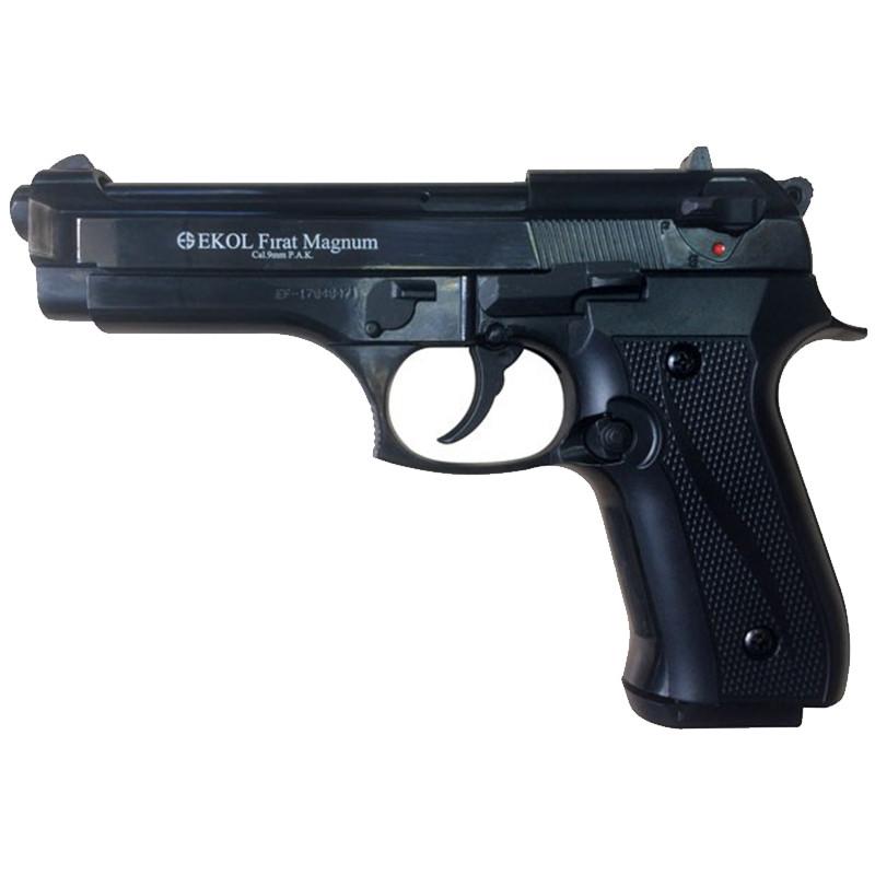 Пистолет сигнальный, стартовый Ekol Firat Magnum (9.0мм), черный